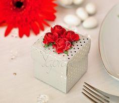 Gümüş Puantiyeli Kutu #nikah #şekeri