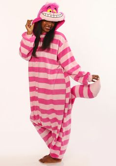 Kigurumi Shop | Cheshire Cat Kigurumi - Animal Costumes