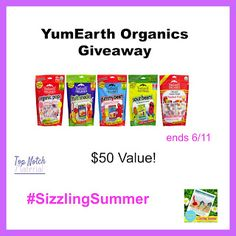 Top Notch Material: YumEarth Organics Candy Giveaway