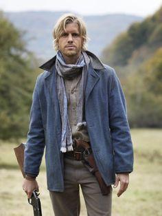Oh helllooooo.....Matt Barr as Johnse Hatfield in Hatfields & McCoys