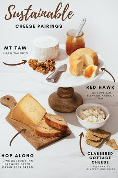 Cowgirl Creamery of Point Reyes Station, California, is a leader in the sustainable eco-conscious cheesemaking field, creating stellar products through sustainable practices. Armed with this knowledge, you can build this irresistible all-Cowgirl cheeseboard with a clear conscience.