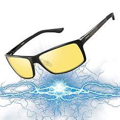 f2fc7ac07b4 SOXICK Night Driving Glasses for Driver Adjustable Safe Anti Glare Glasses  for Men Women Anti Glare