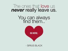 Sirius Black about love