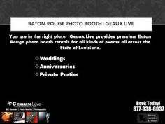 Awesome Wedding Photo Booth  Rental Service  in  the Baton Rouge area #baton_rouge_photo_booth