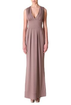 https://www.cityblis.com/6074/item/9152   YY.FASHION by YULIYA BABICH • YY300003 RAL8025 Designer long evening dress - $229 by yuliyababich.ru    Evening dress in classic style with courrigations. Cut under the bust, it gives proportions to a figure; top finished with a deep neckline; straight, without sleeves - perfect for warm days. Length of dress 153 cm.  Natural knitwear: viscose 95%, elastane 5%. Viscose is material obtained of natur...   #Dresses