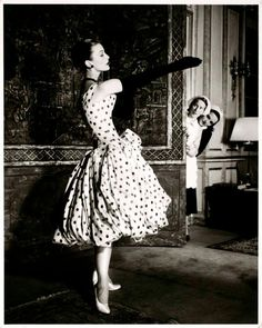 Vintage Vogue- polka dots will always be in