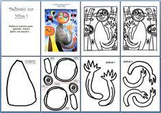 images matrices ANIMAL MIRO Mondrian, Classe D'art, Art Handouts, Art In The Park, Miro, 6th Grade Art, Art Worksheets, Ecole Art, Shape Art