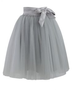 tulle skirt in grey  http://rstyle.me/n/m4298pdpe