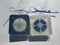 Compass Soap Favor for nautical party baby shower by SoapFavor, $36.00