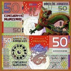 China Lunar Year 2014 SPECIMEN Kamberra 50 Numismas UNC /> Horse