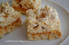 ~Stella B's Kitchen: Caramel Rice Krispies Bars