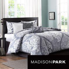 Madison Park Marcella 6-piece Duvet Cover Set by Madison Park