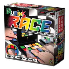 Rubik's Race & OutSmart: Family Friendly Board Games Holiday Gift Guide, Holiday Gifts, Arcade Games, Big Kids, Childhood Memories, Board Games, Racing, Toys, Cubes