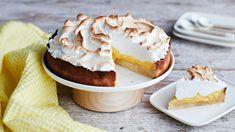 Sitruunatorttu | Leivonnaiset | Yhteishyvä Camembert Cheese, Cheesecake, Dairy, Baking, Desserts, Recipes, Food, Kite, Tailgate Desserts