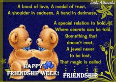 Rekindle the magic of friendship in a unique way with this Ecard. #FriendshipWeek. www.123greetings.com