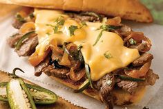 As if a juicy sirloin steak sandwich weren't delicious enough, we upped the ante by serving it on grilled garlic bread.