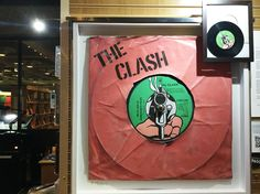#TheClash #WhiteManInHammersmithPalais #ChunkOfPunk #PunkLondon featuring as part of #RockArchive exhibition