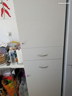 Meuble Cuisine - Colonne étagères + tiroirs IKEA