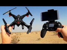 FQ777 FQ20W FPV Camera Drone WiFi Repeater Test Flight
