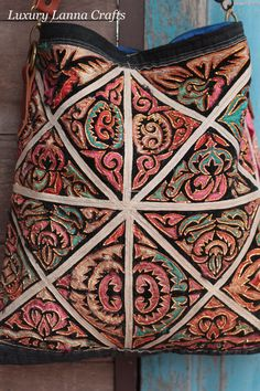 Chiangmai - incredible cutwork embroidery bag, on Etsy, http://www.etsy.com/listing/90579192/luxury-hmong-ethnic-messenger-bag