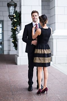 Couple Holiday Outfit Ideas Hello Fashion Blog