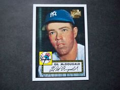 2001 Topps Archives #10 Gil McDougald Yankees NM/MT