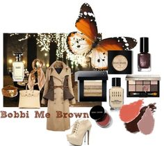 """Bobbi Me Brown"" by rhinestonesandrouge on Polyvore"