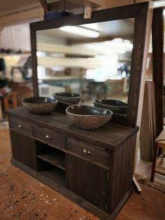 Katrine baderomsinnredning servantskap 160x50x75 og speil 160x110 cm. vanity unit bathroom mirror