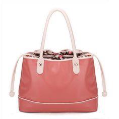 aee6f901926fc Damentasche Beuteltasche Handtasche Tasche groß Kunst Leder Rosa günstig  kaufen ...