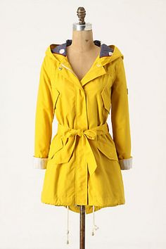 Heritage Raincoat. Anthro, I will never pay $288 for a raincoat. But this one sure is pretty.