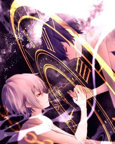 Yaoi Doujinshi 1 - Soraru x Mafumafu (tt) - Wattpad Manga Cute, Cute Anime Boy, Anime Guys, Manga Anime, Anime Art, Vocaloid, Akira, Neko, Friend Anime