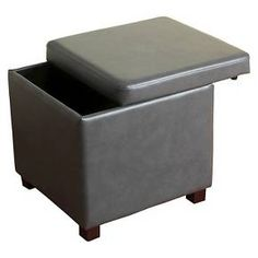 Collins Cube Storage Ottoman - Threshold™ : Target