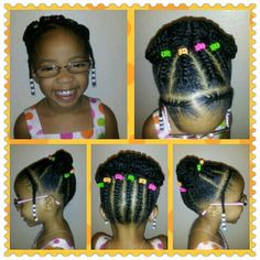 Natural little girl style