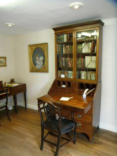 Jane Austen's desk. She was a great letter writer as well as a great novelist.