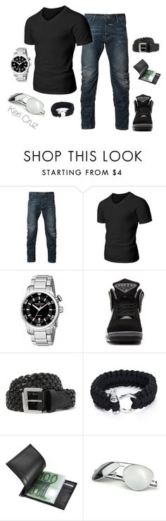 """""""Men's Casual"""" by keri-cruz ❤ liked on Polyvore featuring G-Star Raw, Doublju, Maurice Lacroix, NIKE, Mulberry, Giorgio Fedon 1919 and Urban Boundaries"""