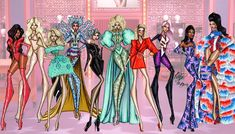 Anime Outfits, Lily Pulitzer, Illustrations, Queen, Instagram, Dresses, Style, Fashion, Gowns