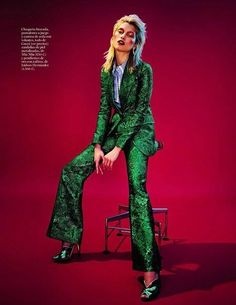 Vivid Glam Rock Editorials : Glam Rock Editorial