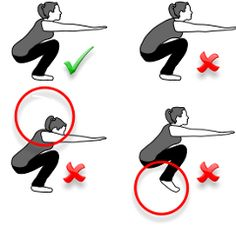 squats.... something everyone should learn to do correctly