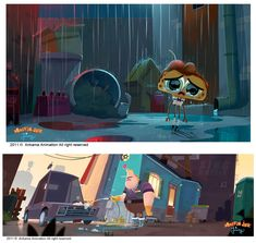 A arte de Muffin Jack & Jeremy, da Ankama | THECAB - The Concept Art Blog