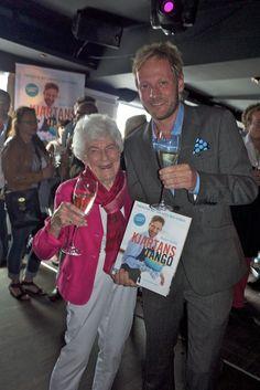 Kjartan Skjelde launching his new book this summer with Ingrid E. Hovig