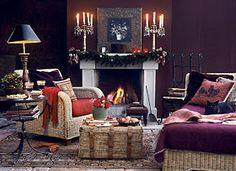 Brabourne Farm: Love .... Christmas Mantelscapes