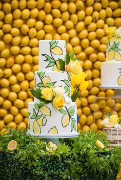 Sundays Sweets Turns Lemons Into Lemonade — Cake Wrecks 1st Birthdays, 1st Birthday Parties, Birthday Eve, Lemon Centerpieces, Lemon Party, Yellow Wedding, Camo Wedding, Gold Wedding, Cake Trends