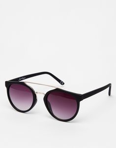 9bfa54d937 Jeepers Peepers Round Bar Sunglasses at asos.com