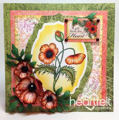 Heartfelt Creations | Blazing Poppy Filler