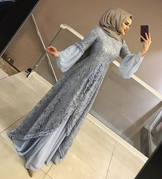 Model Dress brukat untuk lebaran 2020 – ND Dress Brokat Muslim, Dress Brokat Modern, Kebaya Modern Dress, Kebaya Dress, Dress Pesta, Muslim Dress, Hijab Evening Dress, Hijab Dress Party, Hijab Style Dress