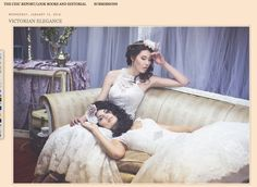 Victorian Elegance on Bride Chic Blog — RIVKAH. PHOTOGRAPHY.