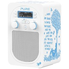 Serious case of the want here... Pure have collaborated on this digital radio with Rob Ryan, whose work I absolutely love to have around the house. Even better, if I had this in my bedroom, then I could listen to Radio 6 music in the mornings!