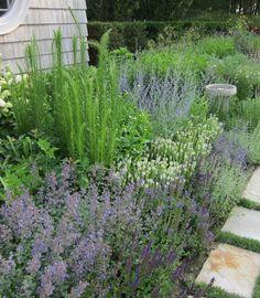 Herbaceous border by Hudson Berkshire LLC Landscape Design