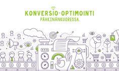 Konversio-optimointi pyrkii muuttamaan suuremman osan verkkosivuston kävijöistä asiakkaiksi. Kirkas tavoite, jota sisältö ja design tukevat, tuo tuloksia.…