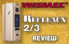 The WISMEC Reuleaux Series Mods designed by JayBo exploded onto the scene early last year and hasn't let up its assault on the vaping market since it was introduced! Everyone I know has a WISMEC Reuleaux in his or her vape arsenal and for good reason;   #box mods #Reuleaux #Reuleuax #RX #vaping #WISMEC